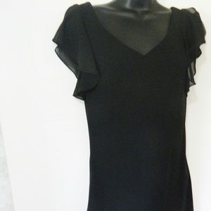 Dressbarn Collection Long Fitted Dress Size 10